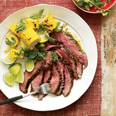 Spicy Thai Steak. Date night recipe, it does have to marinade at least 30 minutes, preferably longer. Also does call for fish sauce and an Asian chile sauce.