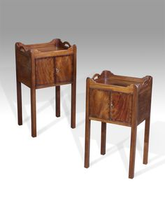 Washstands Pair Of Georgian Night Stands Antique Washstand Uk Georgian