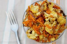 Roasted Cauliflower Tahini Salad by Daily Garnish