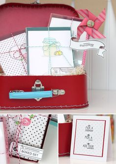 Craft Fair Inspiration| Damask Love Blog ~ Make your own clear top boxes