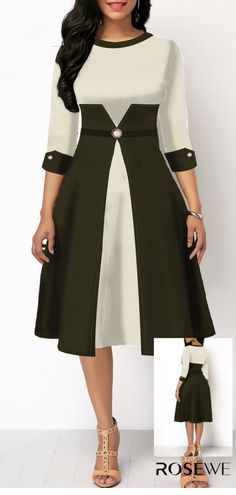 Shop sexy club dresses, jeans, shoes, bodysuits, skirts and more. T Length Dress, Stylish Summer Outfits, Cute Fashion, Womens Fashion, Royal Clothing, Short Dresses, Prom Dresses, Mode Outfits, Quarter Sleeve