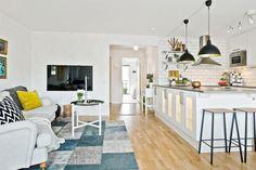 Armonía con elementos industriales. | Decorar tu casa es facilisimo.com