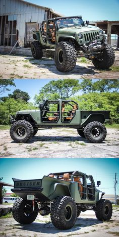 2008 Jeep Wrangler Bruiser Conversion