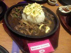 Sizzling Gyudon from John and Yoko Cosmopolitan Japanese restaurant