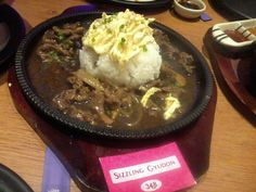 Sizzling Gyudon from John and Yoko Cosmopolitan Japanese restaurant