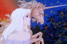 The Last Unicorn...her hair is awesome!