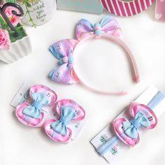 Diy Hair Bows, Making Hair Bows, Diy Bow, Ribbon Art, Diy Ribbon, Diy Headband, Baby Headbands, Baby Bows, How To Make Bows