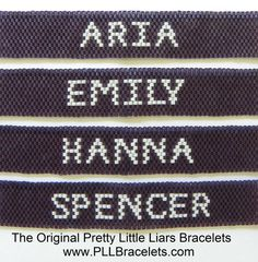 The Original Pretty Little Liars Bracelet by DreamWeaverDesigns