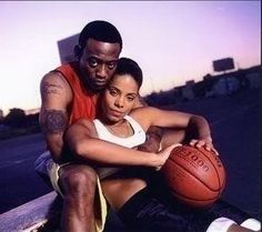 Love and Basketball 2000 HD Movie * Good Sanaa Lathan, Omar Epps Romanti. Love And Basketball Movie, Basketball Couples, Basketball Movies, Basketball Pictures, Basketball Quotes, Black Couples Goals, Cute Couples Goals, Basketball Relationship Goals, Omar Epps