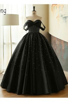 Fitted Prom Dresses, ball gown black sweetheart off the shoulder satin beading prom quinceanera dresses uk Bey Love Cheap Prom Dresses Uk, Burgundy Homecoming Dresses, Pretty Prom Dresses, Prom Dresses With Sleeves, Backless Prom Dresses, Black Prom Dresses, A Line Prom Dresses, Evening Dresses, Black Quinceanera Dresses
