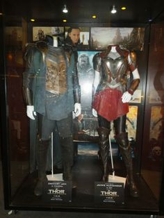 Fandral and Sif Thor: The Dark World movie costumes