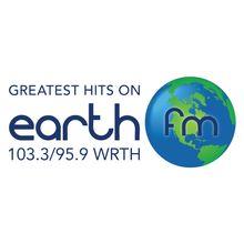 103.3/95.9 Earth FM WRTH - LISTEN LIVE | RADIO.COM Dream Music, Square Logo, Greatest Hits, Slogan, Earth, Mood, Live, Mother Goddess, World