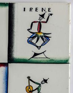 Ceramic Tile by Gio Ponti for Richard-Ginori image 3 Brick Flooring, Floors, Gio Ponti, Vintage Ceramic, Mosaic Tiles, Cool Furniture, Tile Floor, Walls, Antiques