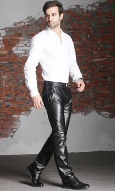 1372 Best F2w Leather Pants Shorts Images Leather Fashion