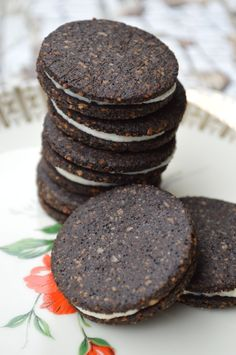 Low carb Oreo cookies