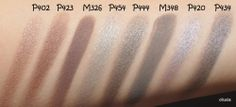 inglot eyeshadow swatches - Google Search