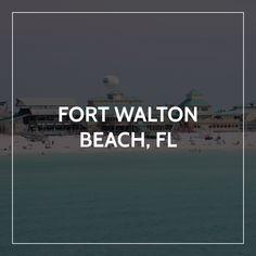 Emerald Blue, Fort Walton Beach, White Sand Beach