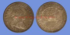 John B. Hamrick has this item on Collectors Corner - 1801 $1 AU50 PCGS