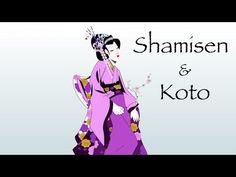 "▶ Japanese koto Shamisen Music""Geisha Music"" - YouTube"
