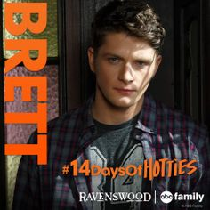 Brett Dier from ABC Family's Ravenswood #14DaysOfHotties