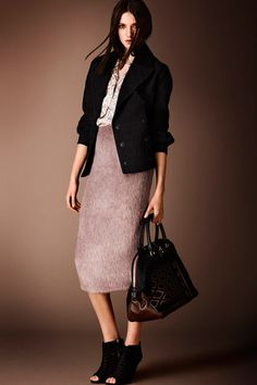 Burberry Prorsum Pre-Fall 2014 Collection Slideshow on Style.com