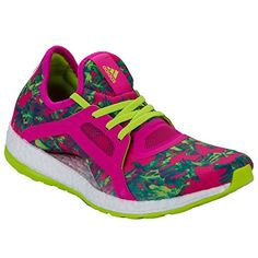 on sale 714ed 12408 Adidas Women s Pure Boost X Running Shoes Shock Pink