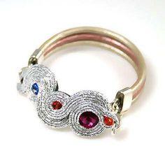 Soutache Bracelet, Soutache Jewelry, Shibori, Tatting, Cufflinks, Braids, Pendants, Sculpture, Boho