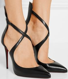 Christian Louboutin Marlenarock 100 leather pumps
