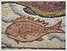 https://flic.kr/p/5EZaNd | Byzantine Mosaic 6th century Qsar Libya | 5880
