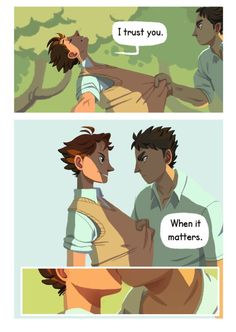 """""""Trust fall"""" Here it is! My small but oh so time consuming Iwaoi comic! As you may notice, I have experimented a bit with lineless art, colors and such. The theme isn't exactly new for these two, but..."""