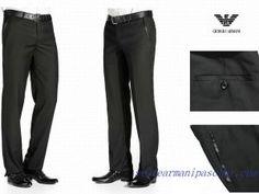 fd8de5448478 Pas Cher Pantalon Homme Giorgio Armani Grise