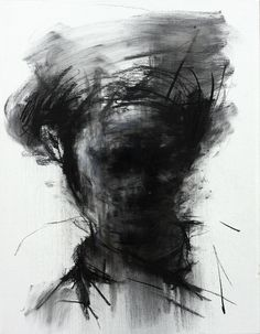 KwangHo Shin; Charcoal, 2013, Drawing  untitled charcoal on canvas