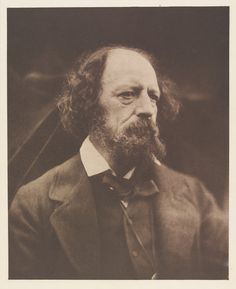 Alfred, Lord Tennyson by Julia Margaret Cameron, England, 1869. l Victoria and Albert Museum