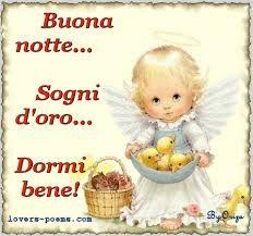 Good night!  Sweet Dreams!  Sleep Well!