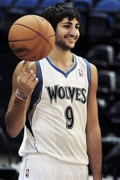 1f985af1b Ricky Rubio!  9 On the MN Timberwolves Kevin Love