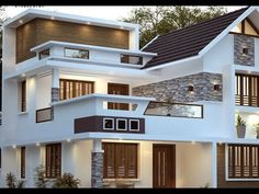 Proposed Residence For Jyothish at Coibatore, Designed by Shine Builders Consultancy - 9447730104