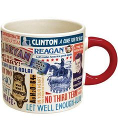 Presidential Campaign Slogan Mug from The Unemployed Philosophers Guild