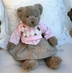 Miś Vendela szary - BelleMaison.pl Teddy Bears, Toys, Animals, Activity Toys, Animales, Animaux, Clearance Toys, Animal, Gaming