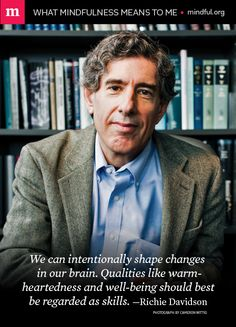 Renowned neuroscientist Richard Davidson