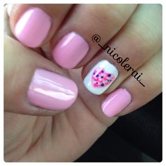 Valentine's Day Nail Art inspired by @nails_beautybysteph from Instagram #valentinesdaynails @_nicolerai_