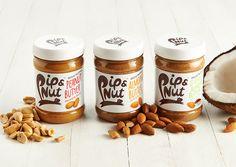 B&B studio - Pip & Nut — World Packaging Design Society / 世界包裝設計社會 / Sociedad Mundial de Diseño de Empaques Bottle Packaging, Food Packaging, Design Packaging, Product Packaging, Healthy Eating Recipes, Dog Food Recipes, Healthy Food, Butter Brands, Best Peanut Butter
