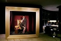 great photobooth idea: At the Sylvester Comprehensive Cancer Center's gala in Miami, guests could pose for photos behind an oversize golden picture frame. Shiraz Events provided decor for the event, which drew 600 guests to the JW Marriott Marquis Miami and Hotel Beaux Arts in December.