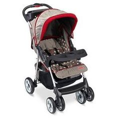 $68.99 (CLICK IMAGE TWICE FOR UPDATED PRICING AND INFO) Safe Voyage Stroller - Circus Dots  - See More Baby Strollers at http://www.zbuys.com/level.php?node=5915=baby-strollers