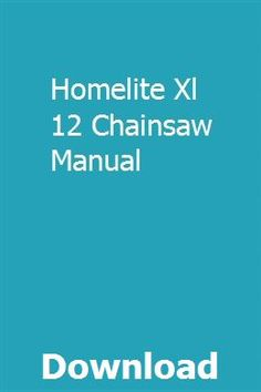 28 Best Homelite Chainsaw Parts images in 2017   Homelite