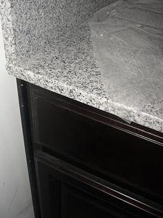Meteorite White Granite Hall Bath Pinterest