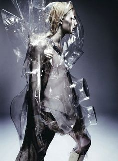 Andrej Pejic for Dazed and Confused Magazine April 2011 - photographed by Anthony Mule //Conceptual Shoot