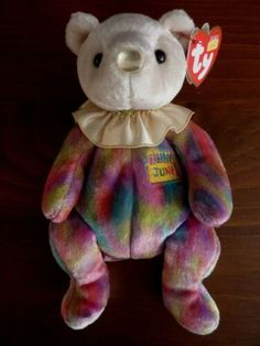 Ty Beanie Babies Mom-e PE Pellets Mothers Day 2002 Mint w// Tag