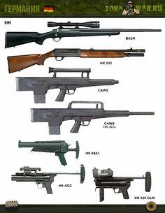 Zombie Weapons, Weapons Guns, Guns And Ammo, Assault Weapon, Assault Rifle, Gun Art, Custom Guns, Weapon Concept Art, Cool Guns