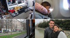 Vlog - Arrumando as malas | Embarque | Chegada em Milão