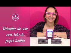 DIY - Caixinha de som com rolo de papel toalha - YouTube